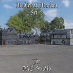 Click to see information about the 'Medieval Market 2 (for DAZ Studio)'.