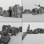Castle in Ruins (for DAZ Studio)