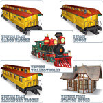 Click to see information about the 'Western Train Pack (for Poser)'.