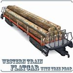 Click to see information about the 'Flatcar (for Poser)'.