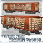 Freight Wagon (for Poser)