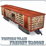 Click to see information about the 'Freight Wagon (for Poser)'.