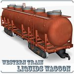Liquids Wagon (for Poser)