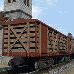 Click to see information about the 'Freight Wagon (for Vue)'.
