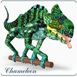 Click to see information about the 'Chameleon (poseAtier) (for Poser)'.