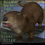 Click to see information about the 'Giant Otter (poseAtier) (for Poser)'.