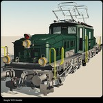 Click to see information about the 'Swiss Train- The Crocodile (for Vue)'.