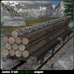 Tree Transport Wagon (for Poser)