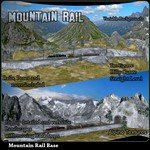 Click to see information about the 'Mountain Rail Scenery (for Poser)'.
