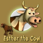 Click to see information about the 'Esther the Cow (for Poser)'.